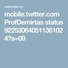 mobile.twitter.com ProfDemirtas status 922530640511361024?s=09