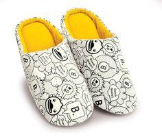 Slippers B.Duck ¡Cómodos y confortables! ¡ Cuánto me quieres B.Duck!