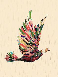 Stunning Bird Design by Santtu Mustone