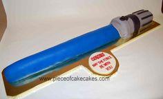 light saber cake