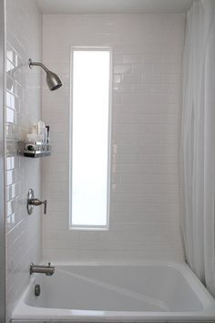 tiny tub in small space