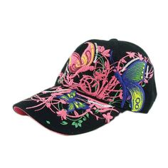7887af24d2e Brand new 2016 summer Embroidered Baseball Cap women Lady Fashion Shopping  Cycling visor sun Hat Cap
