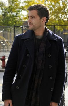 Peter Bishop is cool, and his peacoats and scarves are even cooler.