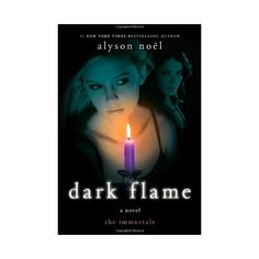 Dark Flame (The Immortals, Book 4) [Hardcover] ($12) ❤ liked on Polyvore featuring books