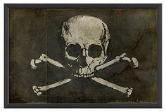 Pirate Flag - OneKingsLane.com✖️More Pins Like This of At FOSTERGINGER @ Pinterest✖️