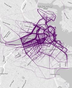Mesmerizing Maps of Where People Jog Reveal Something Odd: A City's Rich and Poor Neighborhoods - PolicyMic
