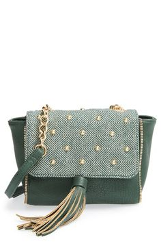 pretty ships 'Aberdeen' Studded Crossbody Bag available at #Nordstrom