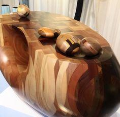 Yard Sale Project Over Easy Coffee table | W O N D E R O U N D