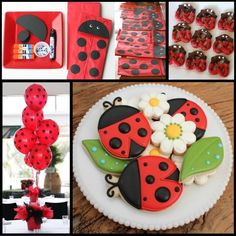 ladybug party ideas | ... compiled a pinterest board of some of my favorite ladybug party ideas