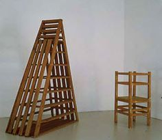Alighiero Boetti, ladder and chair