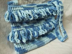 Crochet Fringe Purse Cotton by SharaiStyle on Etsy, $10.00