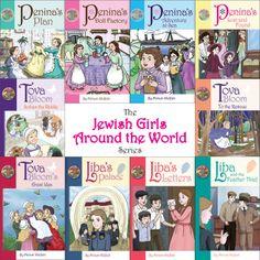 Jewish Girls Around the World -- complete set