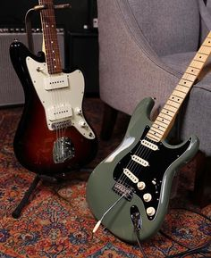 Brand new colors. Updated specs. Your newest obsession. Shop the new Fender American Professional Series guitars: http://www.guitarcenter.com/Fender-American-Pro-Series.gc | #guitarcenter #fender #fenderguitars #guitars #american #professional #telecaster #tele #jazzmaster #jazz #strat #stratocaster #new #newgearday #ngd #guitar #live #facebook #livestream #2017 #musician #guitarist #music #love #beautiful