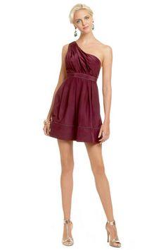 Burgundy Fairy Tale Dress