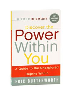 """Discover the Power Within You: A Guide to the Unexplored Depths Within"" by Eric Butterworth.  I discovered this gem on Oprah Winfrey's Top 10 Favorite Books of All-time list. It demystifies the common mistranslations of religion in the most practical language I have ever seen, and speaks to the universal spirit that resides in all of us, regardless of any faith (or lack of faith) one might claim."