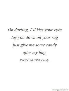 Candy - Paolo Nutini