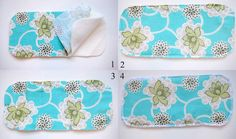 Cloth diaper inserts. I would totally make some for my Oh Katy Cloth Diapers