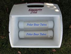 DIY polar bear tubes for your cooler