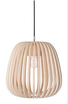 Ay Illuminate Natural Bamboo Lamp from Platane