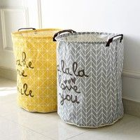Cheap dirty clothes storage, Buy Quality dirty clothes directly from China laundry basket Suppliers: Cartoon Folding Laundry Baskets Dirty Clothes Storage Bag Cotton Linen Washing Hamper Folding Laundry Basket, Laundry Basket Organization, Laundry Storage, Laundry Hamper, Bathroom Laundry, Small Bathroom, Sock Storage, Storage Buckets, Linen Storage