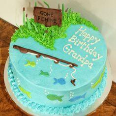 Gone Fishing Cake