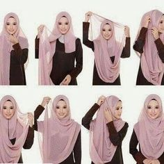 PINNED BY @MUSKAZJAHAN - :#tutorial #tutorialhijab #tutorialhijabsyari #tut…