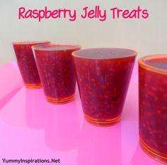 Raspberry Jelly Treats Recipe