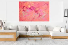 Buy Towards Unknown - XXL colorful abstract painting, Acrylic painting by Ivana Olbricht on Artfinder. Discover thousands of other original paintings, prints, sculptures and photography from independent artists. Dark Interiors, Metallic Colors, Abstract Styles, Acrylic Painting Canvas, Abstract Landscape, Abstract Art, Warm Colors, Shades Of Purple, Lovers Art