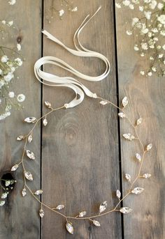 bridal hair vine wedding accesories crystal by JoannaReedBridal winter wedding hairstyles Bridal Hair Vine, Bridal Tiara, Bridal Headpieces, Bridal Updo, Gold Tiara, Vintage Headpiece, Wedding Headdress, Wedding Hair Accessories, Hair Jewelry