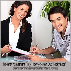 Property Management Tips - How to Screen Out