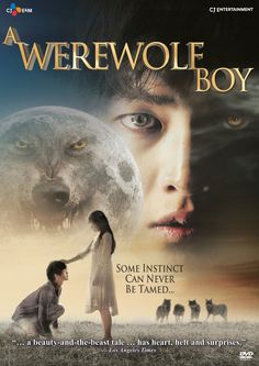 """❤️❤️ A Werewolf Boy (Hangul: 늑대소년; RR: Neukdae Sonyeon; lit. """"Wolf Boy"""") is a 2012 South Korean fantasy romance film in which a beautiful teenage girl (Park Bo-young) is sent to a country house for her health, where she befriends and attempts to civilize a feral boy (Song Joong-ki) she discovers on the grounds — but the beast inside him is constantly waiting to burst out."""