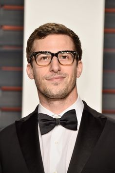 Pin for Later: See How the Stars Celebrated at Vanity Fair's Oscars Afterparty! Pictured: Andy Samberg