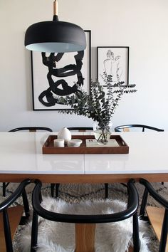 We see our Souk Wool Rug peeping through in this gorgeous remodeled dining room seen on The Vault Files!