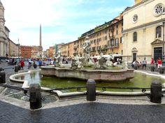 La Piazza Navona - Rome