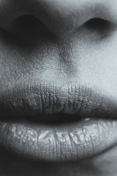 Free download of this photo: https://www.pexels.com/photo/gray-scale-photography-of-human-lips-196913/ #black-and-white #person #woman