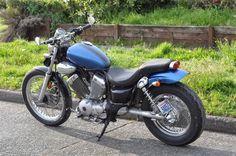 1990 virago 535 - Japanese Bikes, Build Threads & How-To's Yamaha Fzr 600, Yamaha Virago, Yamaha Motorcycles, Cars And Motorcycles, Virago Cafe Racer, Cafe Racer Motorcycle, Virago 535, Motogp Valentino Rossi, Biker Love
