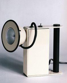 Gae Aulenti and Piero Castiglioni, Mini Box Table Light, for Stilnovo, 1980
