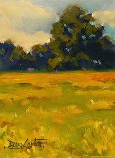 "Doug Carter, A Painting Diary: "" GOLDEN SUMMER "" SOLD"