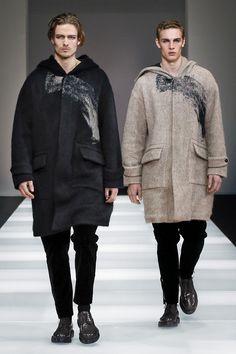 #Trends #Menswear Emporio Armani Fall Winter 2015 Otoño Invierno #Tendencias #Modas Hombre
