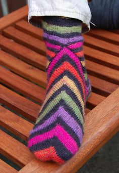 Ravelry: Project Gallery for Lakritz Socks pattern by Corinne Fourcade