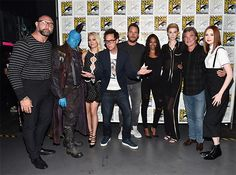 Comic-Con 2016: See Scenes From Marvel's Showcase | The stars of 'Guardians of the Galaxy, Vol. 2' | EW.com