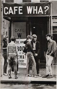 Café Wha?, located at 115 MacDougal Street in the west village of New York City, opened in the 1950s. Under the guidance of owner/manager Ma...