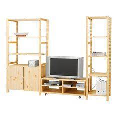 Ikea ivar desk bookshelves ivar pinterest - Ikea ivar mobile ...