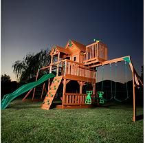 Skyfort Cedar Play Set with Slide $1,350 shipping included