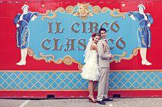circus wedding