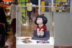 Mafalda na Biblioteca Parque Estadual