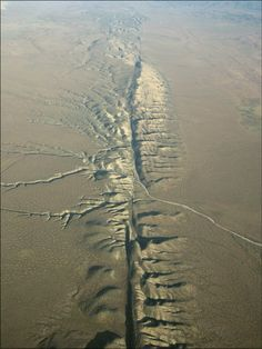 San Andres fault line <#earthquakes>