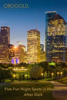 OROGOLD shares fun spots in Houston after dark.