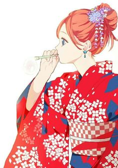 Okita Sougo х Kagura Gintama Manga Anime, Anime Art, Red Hair Blue Eyes, Gintama, Lovely Complex, Vampire Art, Okikagu, Anime Japan, Anime Characters