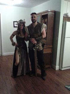 Home,Made 2013 Viking Halloween Costumes